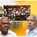 KARNATAKA CRISIS: FLOOR TEST DEMAND UNMET, BJP MLAS TO STAGE 'OVERNIGHT DHARNA' AT VIDHANA SOUDHA