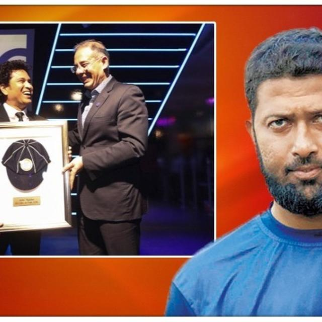 'ICC HALL OF FAME SHOULD FEEL PROUD TO HAVE SACHIN TENDULKAR AMONG THE LIST..' : WASIM JAFFER
