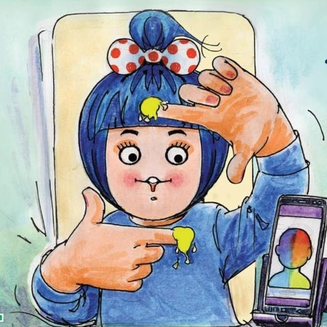 AGELESS AMUL JUMPS IN ON FACEAPP AGE CHALLENGE WITH A HUMDINGER
