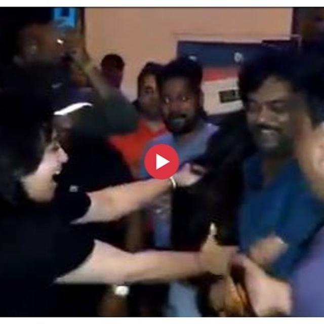 WATCH: 'ISMARTSHANKAR' OPENING MAKES RAM GOPAL VARMA GO 'MAD' WITH JOY AS HE PARTIES WITH RAM POTHINENI, CHARMME KAUR, NIDHHI AGERWAL