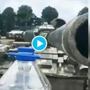 VIRAL: THOUGHT YOU HAD ENOUGH OF THE BOTTLE CAP CHALLENGE? HERE'S ONE USING AN ARMY TANK, WATCH HERE