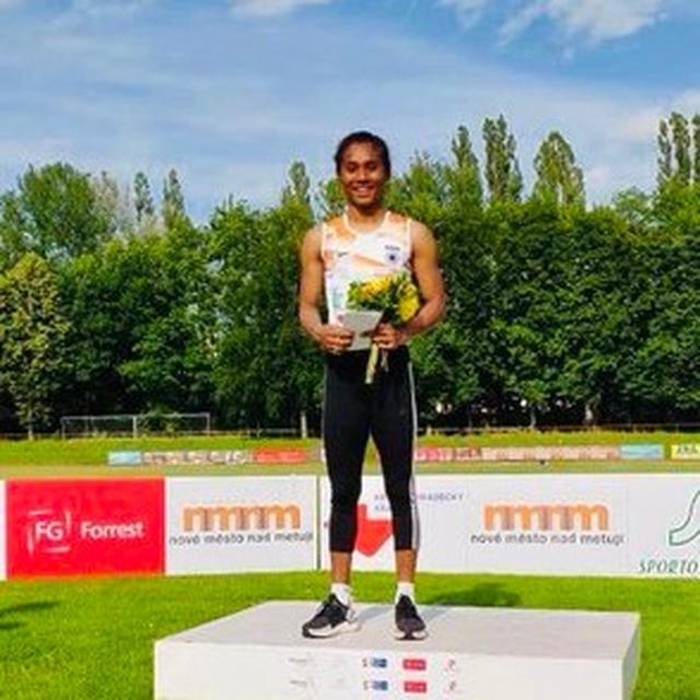 GOLDRUSH FOR HIMA DAS AS SHE CLINCHES FIFTH GOLD MEDAL IN 18 DAYS