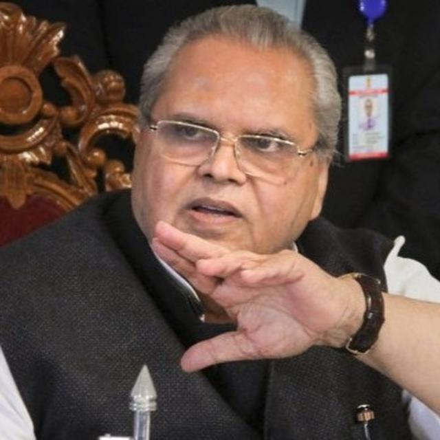 CONTROVERSIAL: J&K GOVERNOR SATYA PAL MALIK ASKS TERRORISTS TO 'KILL CORRUPT POLITICIANS INSTEAD OF SECURITY FORCES'