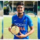 SHUBMAN GILL IS PLAYER OF THE TOURNAMENT AS INDIA A COMPLETE SERIES WIN AGAINSTWEST INDIES A