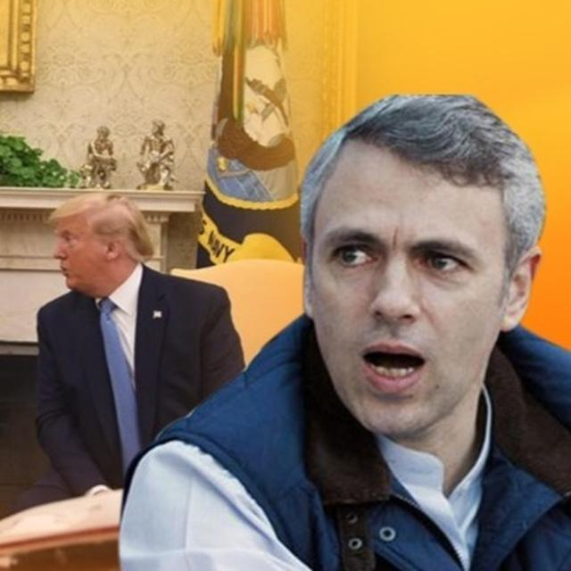 """""""TRUMP IS TALKING OUT OF HIS HAT,"""" SAYS OMAR ABDULLAH OVER THE US PRESIDENT'S CLAIM THAT PM MODI ASKED HIM TO MEDIATE KASHMIR DISPUTE"""