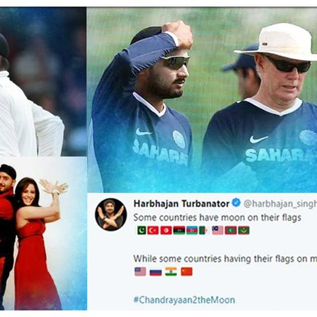 HARBHAJAN SINGH ON STICKY WICKET FOR CELEBRATING CHANDRAYAAN-2'S SUCCESS, HERE ARE HIS 5 BIGGEST CONTROVERSIES