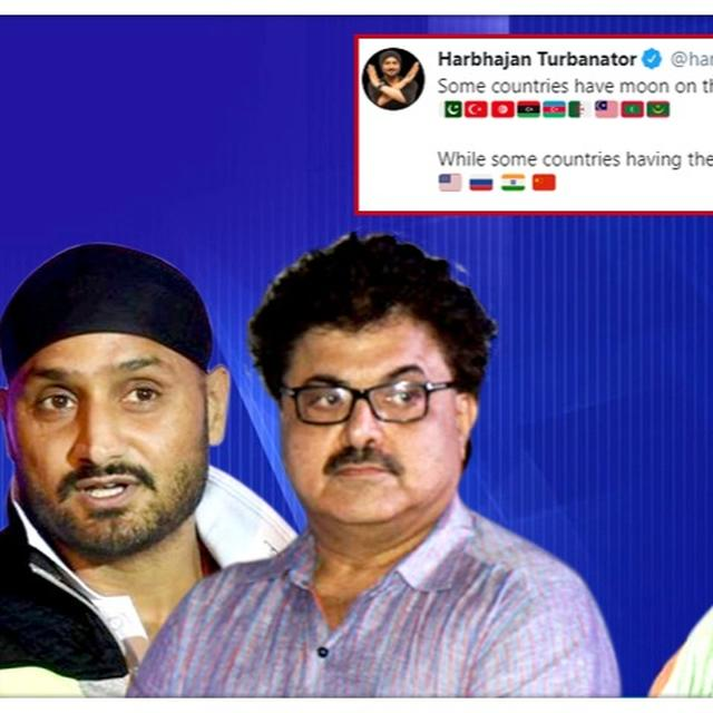ASHOKE PANDIT TAKES ON KAVITA KRISHNAN & SHEHLA RASHID FOR TARGETING HARBHAJAN SINGH OVER 'MOON, FLAG' CHANDRAYAAN-2 SUCCESS POST