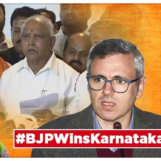 AS KARNATAKA GOVERNMENT FALLS, OMAR ABDULLAH DISAGREES WITH MEHBOOBA MUFTI OVER 'BLACK DAY FOR DEMOCRACY' TAKE ON CONGRESS-JD(S) COALITION'S COLLAPSE