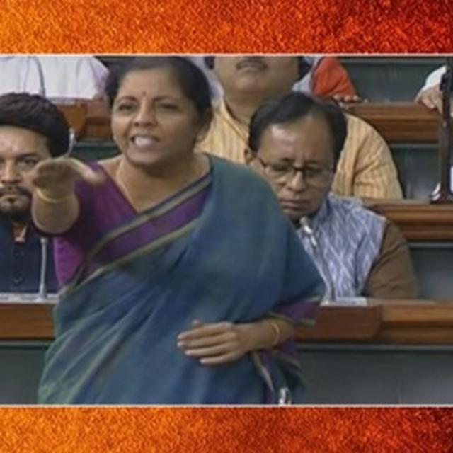 AZAM KHAN'S SEXIST REMARKS | NIRMALA SITHARAMAN TAKES ON MULTIPLE MALE CONGRESS MPS, REFUSES TO BE DROWNED OUT