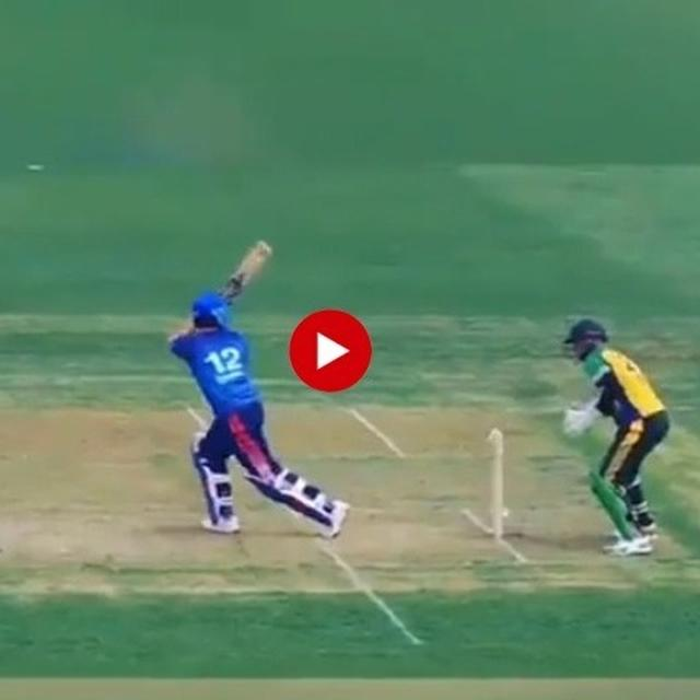 YUVRAJ SINGH GETS STUMPED BY WICKET KEEPER'S FACE IN BIZARRE DISMISSAL DURING T20 CANADA