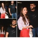 MALAIKA ARORA, ARJUN KAPOOR DINE AT FORMER'S PARENTS' HOUSE, WATCH VIDEO