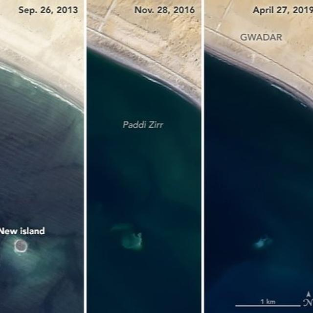 TINY ISLAND OFF PAKISTAN COAST TRIGGERED BY 2013 EARTHQUAKE VANISHES, NETIZENS ASK IF THAT'S WHERE THEY HID THE TERRORISTS