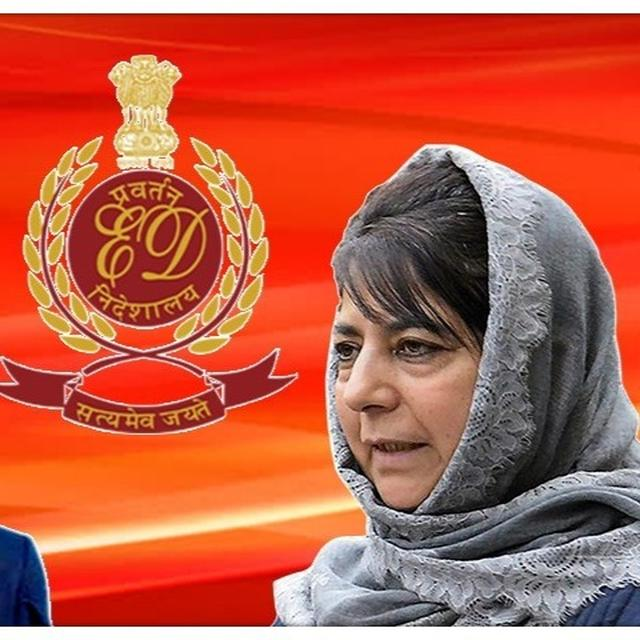 ARTICLE-35A: MEHBOOBA MUFTI CALLS ED PROBING FAROOQ ABDULLAH IN J&K CRICKET SCAM 'HARASSMENT FOR NOT TOEING CENTRE'S LINE'