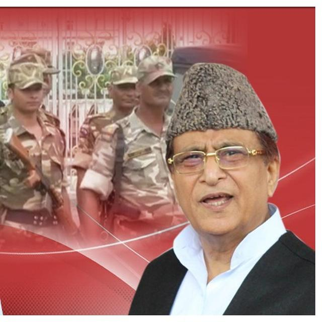 AZAM KHAN CONTROVERSY: SECTION 144 IN RAMPUR AS SP PROTESTS AGAINST KHAN'S SON'S DETENTION, UNIVERSITY RAIDS