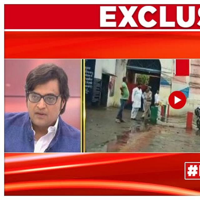 UNNAO RAPE-ACCUSED MLA KULDEEP SENGAR'S AIDE CONFRONTED BY ARNAB GOSWAMI ON LIVE TV, ADMITS MEETING POLITICIAN IN JAIL