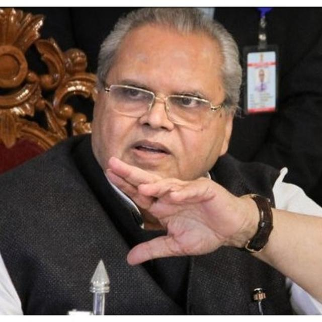 TELL PARTY WORKERS TO MAINTAIN CALM, DON'T BELIEVE RUMOURS: J&K GUV TO LEADERS