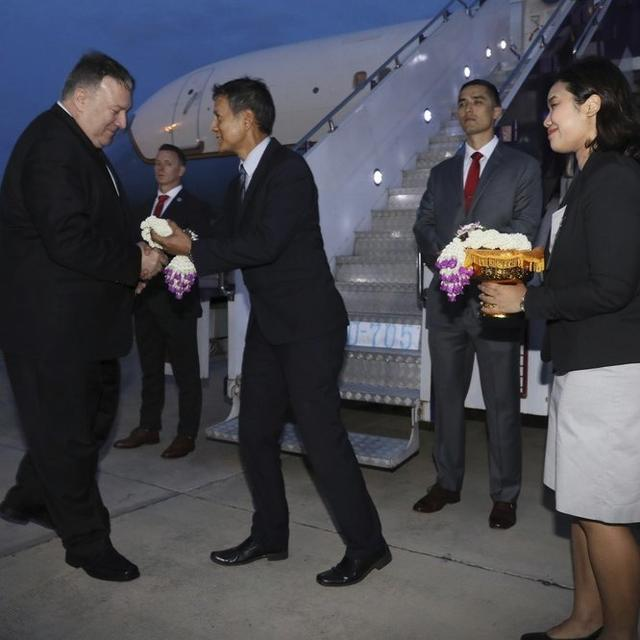 SNUBBED BY NORTH KOREA, POMPEO HITS OTHER ASIAN TURBULENCE