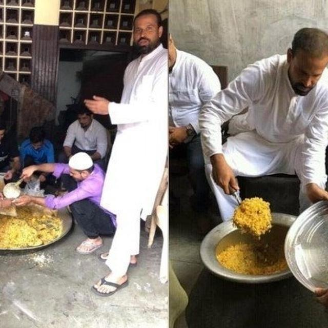 YUSUF PATHAN SERVES FOOD TO FLOOD-AFFECTED VICTIMS IN VADODARA, NETIZENS HEAP PRAISES ON CRICKETER