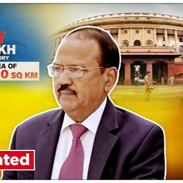 J&K'S ARTICLE 370 TO GO, NSA AJIT DOVAL TO VISIT KASHMIR FOLLOWING MASSIVE INTEGRATION MOVE