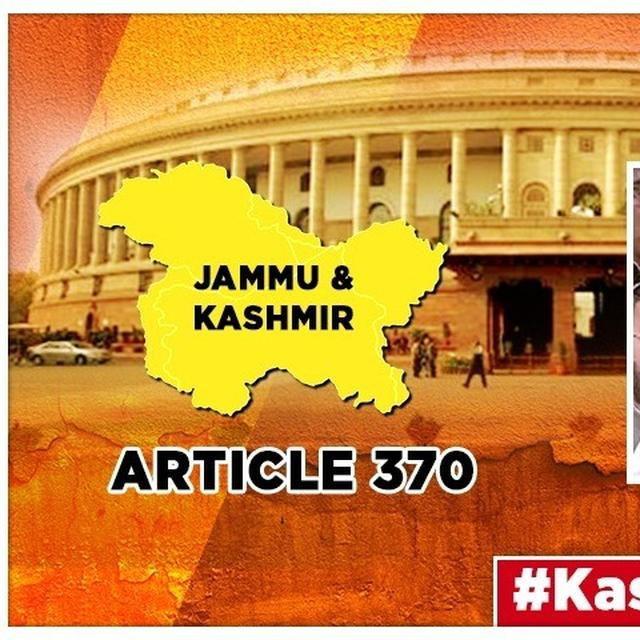 J&K'S ARTICLE 370 EXPLAINED: HERE'S HOW IT CAME AND HOW IT WENT
