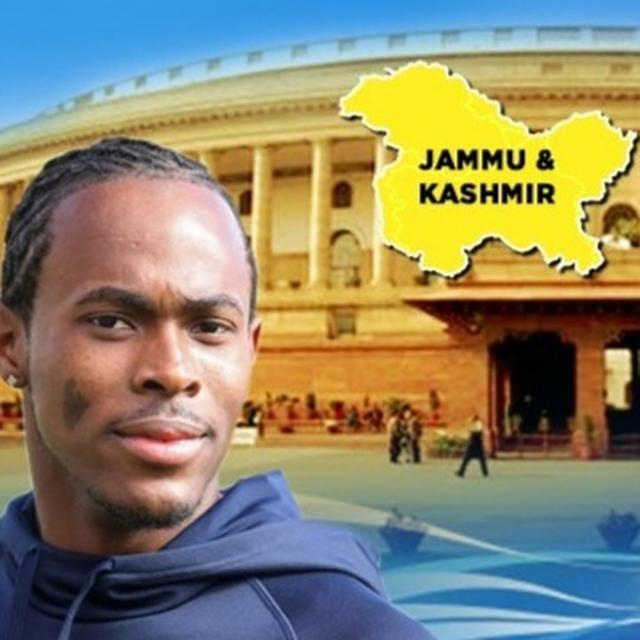 J&K'S ARTICLE 370 TO GO, ENGLAND'S JOFRA ARCHER'S EERIE PREDICTION FROM THE DAY NARENDRA MODI BECAME PM GOES VIRAL