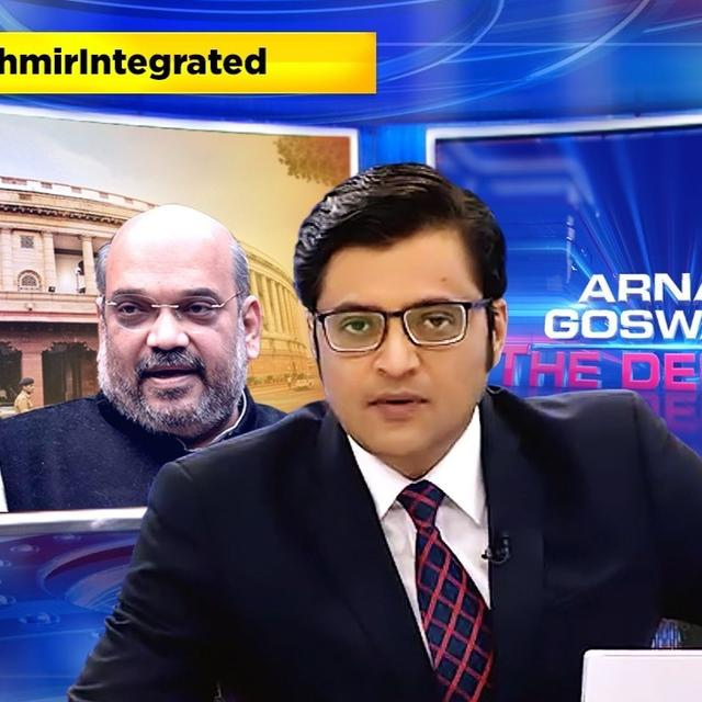 ARTICLE 370 SCRAPPED: HERE'S WHAT ARNAB GOSWAMI HAD TO SAY