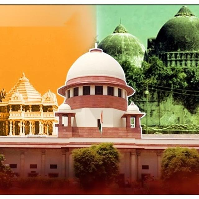 AYODHYA CASE: SUPREME COURTTO COMMENCE DAY-TO-DAY HEARING ON TUESDAY IN THE RAM JANMABHOOMI-BABRI MASJID LAND DISPUTE