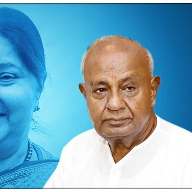 SUSHMA SWARAJ PASSES AWAY: FORMER PM HD DEVE GOWDA MOURNS THE LOSS, SAYS, 'KNEW HER FOR 40-45 YEARS'