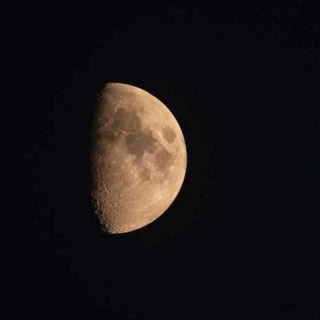 THERE MAY BE LIFE ON THE MOON AFTER ALL, SINCE APRIL AT LEAST