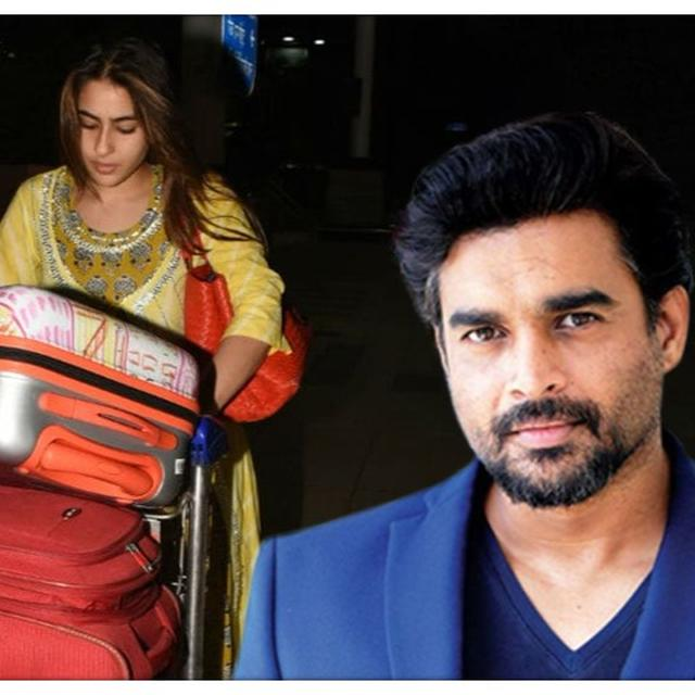 R MADHAVAN CALLS SARA ALI KHAN A 'YOUTH IDOL' FOR CARRYING HER OWN LUGGAGE, GIVES JUSTIFICATION