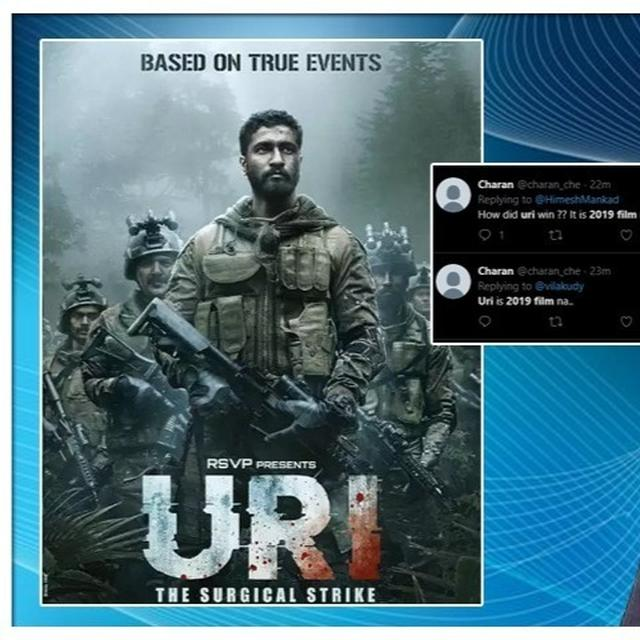 NATIONAL AWARDS 2019: NETIZENS ASK HOW VICKY KAUSHAL'S 2019 FILM 'URI: THE SURGICAL STRIKE' WAS ELIGIBLE, HERE'S THE ANSWER