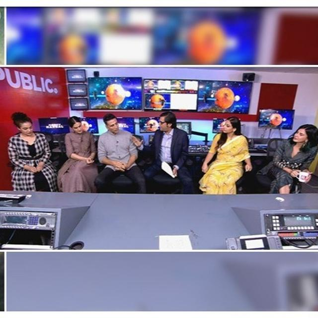 'MISSION MANGAL' TEAM WITH ARNAB GOSWAMI: FILM'S LEADING LADIES DISCLOSE HOW IT WAS MEETING ISRO'S WOMEN SCIENTISTS, ESSAYING THEM ON-SCREEN
