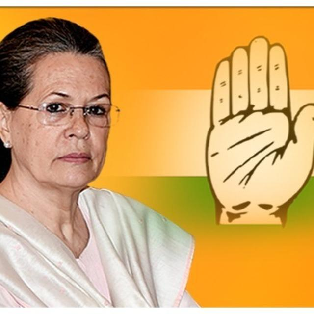 SONIA GANDHI APPOINTED INTERIM CONGRESS PRESIDENT, CWC MEETING INCONCLUSIVE
