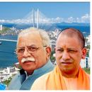 MANOHAR LAL KHATTAR, YOGI ADITYANATH IN RUSSIA AS PART CHIEF MINISTERS' DELEGATION