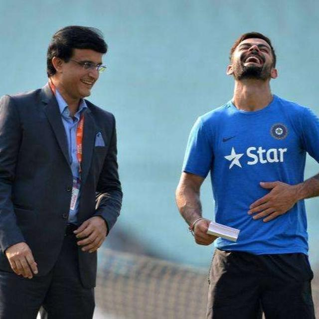 HERE'S WHAT SOURAV GANGULY SAID AS VIRAT KOHLI SURPASSED HIS ODI RUNS RECORD