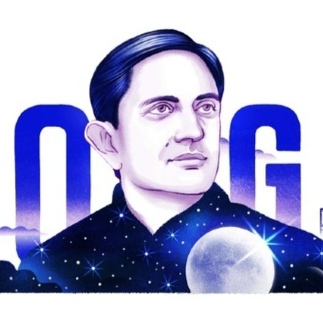 GOOGLE DOODLE HONOURS DR. VIKRAM SARABHAI ON HIS 100TH BIRTH ANNIVERSARY