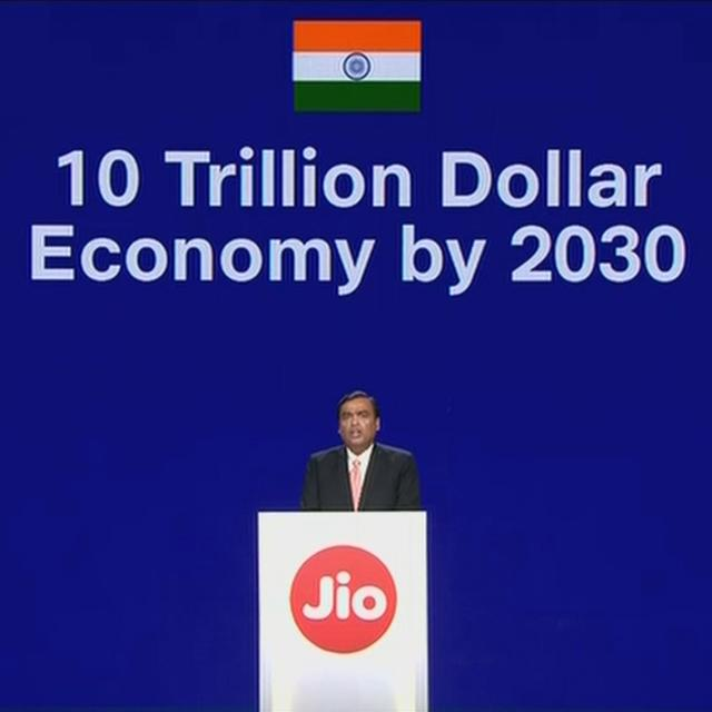 RIL AGM: 'INDIA A $10 TRILLION ECONOMY BY 2030,' SAYS MUKESH AMBANI, SAUDI ARAMCO TAKES 20% STAKE IN RELIANCE'S REFINERY & CHEMICAL BIZ AT $75 BN VALUATION