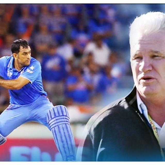 DEAN JONES PICKS MS DHONI IN HIS T20 DREAM TEAM, MOST PLAYERS HAVE NEVER PLAYED THE FORMAT