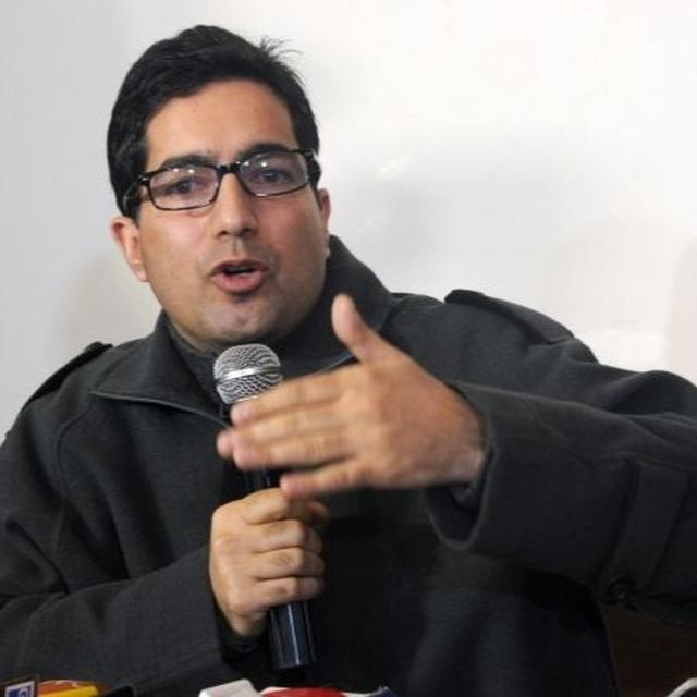 J&K: SHAH FAESAL STIRS STRIFE, SAYS 'NO CELEBRATION TILL EVERYTHING SNATCHED IS RETURNED, INSULTS AVENGED'