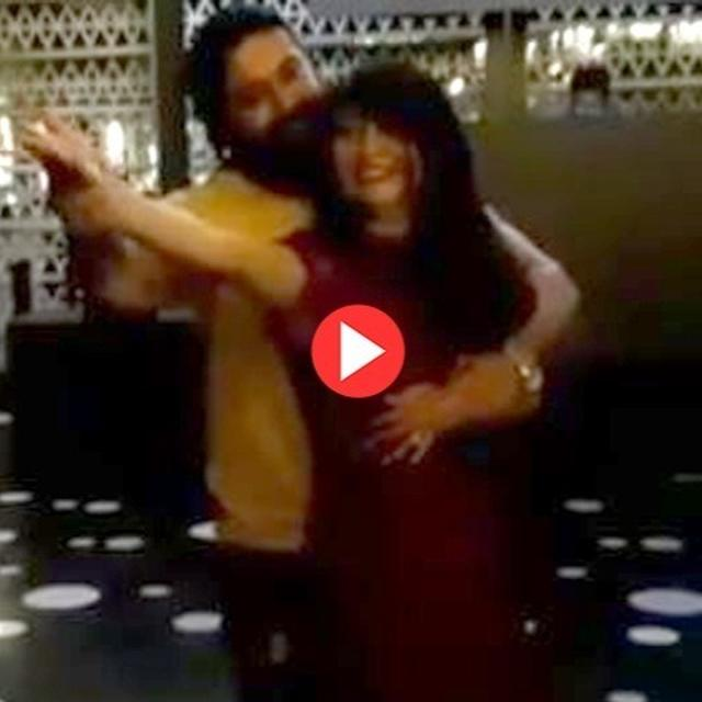 YASH MAKING WIFE RADHIKA PANDIT ENACT MOVES FROM KGF SONG IS ADORABLY PERFECT FOR THEIR 'SPECIAL DAY', WATCH VIDEO HERE