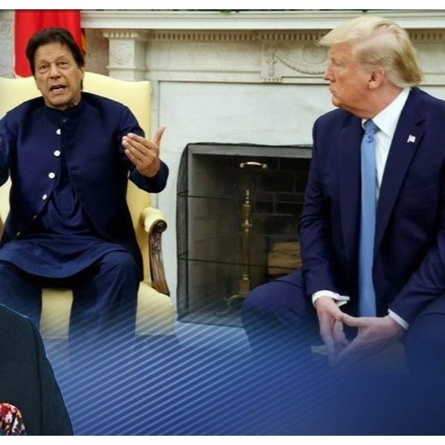 TRUMP TAKES KASHMIR MEDIATION OFFER OFF THE TABLE