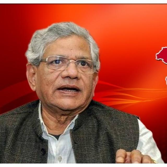 SITARAM YECHURY REFUSES TO MARK HIS BIRTHDAY, CITES 'ECONOMIC DISTRESS, FLOODS & J&K'