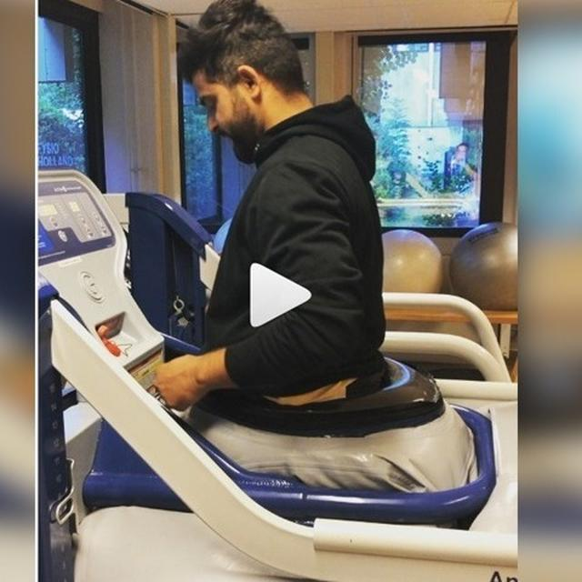 SURESH RAINA BACK ON HIS FEET AFTER SURGERY, TAKES ON TREADMILL IN INSPIRATIONAL VIDEO
