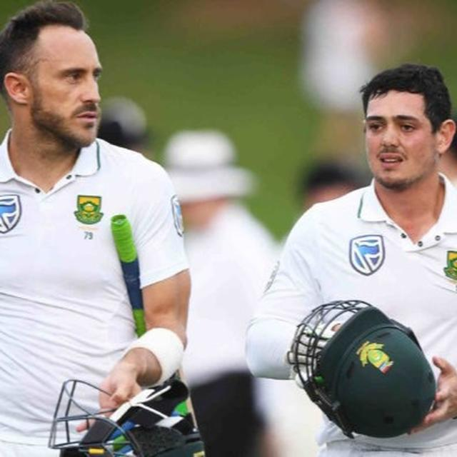 QUINTON DE KOCK TO LEAD SOUTH AFRICA'S T20 TEAM IN INDIA, CURRENT SKIPPER FAF DUPLESSIS MISSES OUT