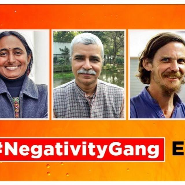 NEGATIVITY GANG EXPOSED: KASHMIR THEIR LATEST AGENDA IN NON-STOP CAMPAIGN TO RUN INDIA DOWN