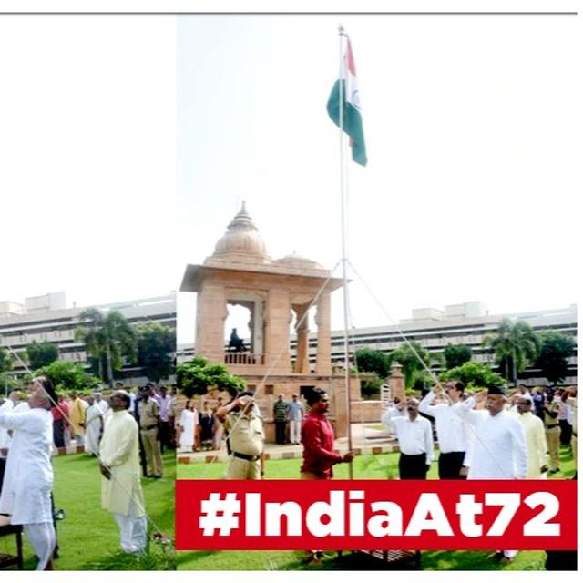 INDEPENDENCE DAY 2019: RSS SUPREMO MOHAN BHAGWAT HOISTS TRICOLOUR AT NAGPUR HEADQUARTERS