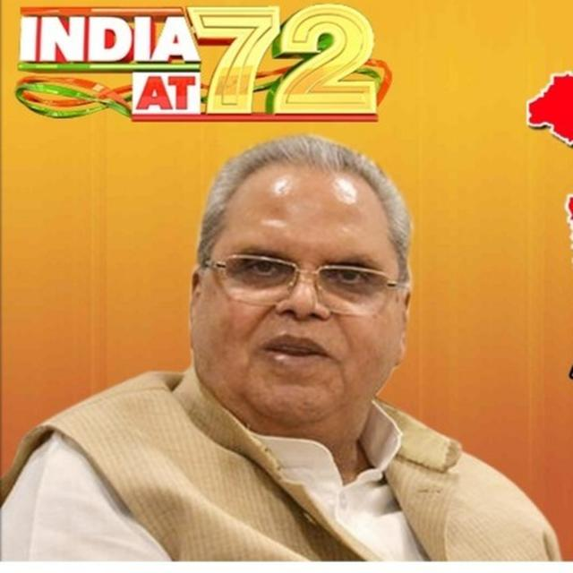 J&K GOVERNOR SATYA PAL MALIK HOISTS TRICOLOUR IN FIRST I-DAY CELEBRATION AFTER ABROGATION OF SPECIAL STATUS