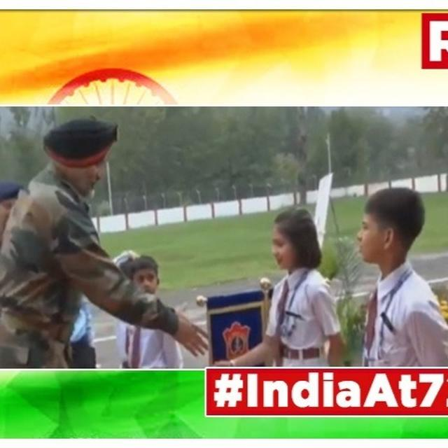 INDEPENDENCE DAY IN J&K: 'NATION WILL GROW AS YOU WILL BECOME SACHIN TENDULKAR & KALPANA CHAWLA,' SAYS LT GEN KJS DHILLON TO STUDENTS