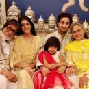 BACHCHAN FAMILY'S RAKSHA BANDHAN SPLENDOUR WILL REMIND YOU OF 'KABHI KHUSHI KABHIE GHAM', SEE PICTURES