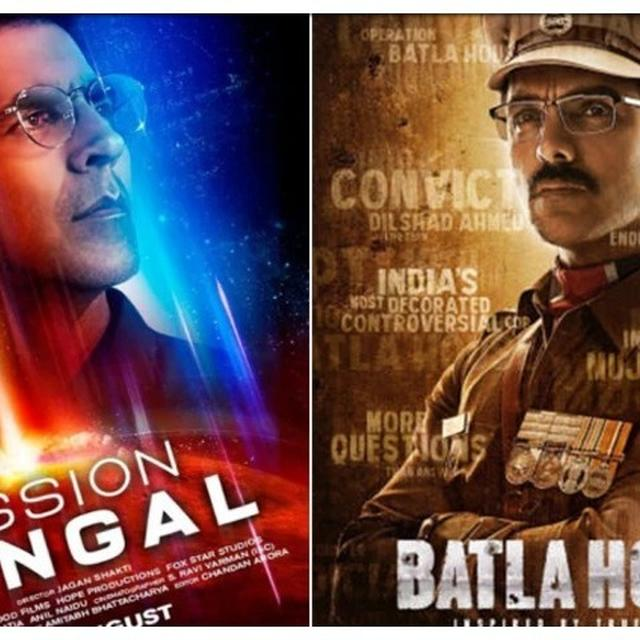 MISSION MANGAL VS BATLA HOUSE: DAY 1 BOX-OFFICE VERDICT OUT, GOOD RESPONSE FROM INDEPENDENCE DAY MOVIE-GOERS